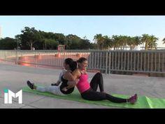 Moldea Tu Cintura Y Reduce Medidas – Reta a Una Amiga! - YouTube