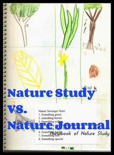Handbook of Nature Study: Nature Study vs. Nature Journals
