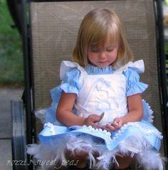 Custom Boutique Alice In Wonderland Girls by SweetPeaBlossoms