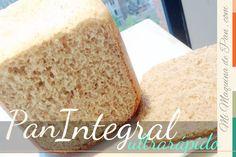 Pan Integral Ultra Rápido en Panificadora Lidl, Bread Machine Recipes, Vanilla Cake, Cheese, Cooking, Desserts, Food, Breads, Cookies