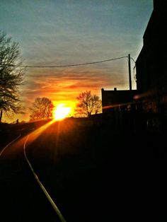 Sunset Downtown @GREENSBORO_NC