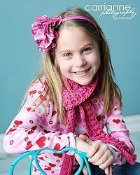 Free Crochet Pattern: Rippling Raspberry Scarf