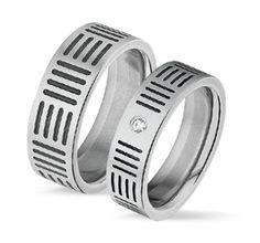 Tresor ruostumaton terässormus Leveys: 6/8mm I Tresor stainless steel ring Width: 6/8mm Rings For Men, Wedding Rings, Engagement Rings, Beautiful, Jewelry, Enagement Rings, Men Rings, Jewlery, Jewerly