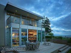 Las casas modernas son planeadas hasta en el más mínimo detalle. Una idea fantástica inspirada en las últimas tendencias de la arquitectura. Disfruta de es