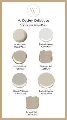 Good to Know: Our Favorite Greige Paints
