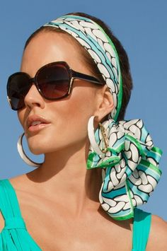Shoes & Accessories - Boston Proper Love the scarf, sunglasses and earrings! Got to have this look!! Maybe Easter?