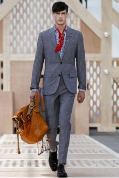 Louis Vuitton Menswear Spring Summer 2014 Paris Fashion Show - More on http://nwf.sh/14c7H85