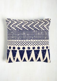 Throw Cushion to the Wind Pillow, #ModCloth
