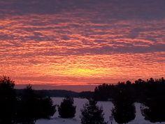 Sunrise at Touchstone  January 2014