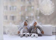 Купить или заказать Сонные ангелы. в интернет-магазине на Ярмарке Мастеров. Нежные сонные ангелочки. Прекрасный подарок, для взрослых и деток. Куклы могут быть подвешены за петельку, а также сидят с опорой. Цена указана за 1 работу.