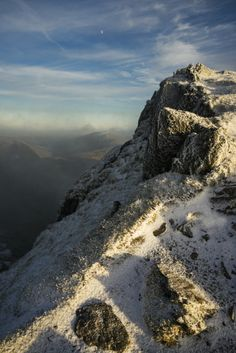 Winter scenery on Snowdon by Andy Teasdale