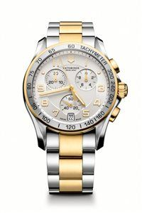 Unisex Hodinky Chrono Classic 241509 Swiss-made quartzový strojček ETA G10.211, Presnosť merania chronografu až 1/10 sekundy, tachymeter, priemer: ø 41 mm