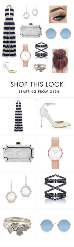 """""""Playsuit💡"""" by coldheartedqueen ❤ liked on Polyvore featuring Nadia Tarr, Jimmy Choo, Edie Parker, Abbott Lyon, Anne Sisteron, Eva Fehren, Sian Bostwick Jewellery and Sunday Somewhere"""