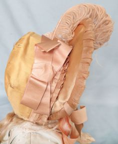Gorgeous Antique Bonnet for French Bebe