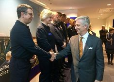 Queen Mathilde and King Philippe visited DVI