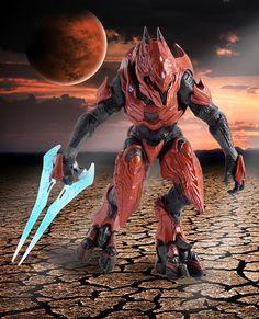 Halo 4 Elite Zealot Mcfarland action figure