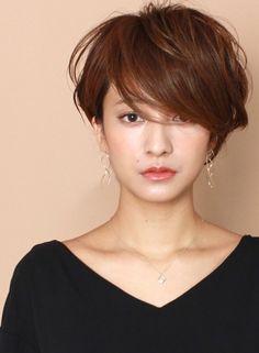 ラフでカジュアル☆大人のレイヤーショート|髪型・ヘアスタイル・ヘアカタログ|ビューティーナビ