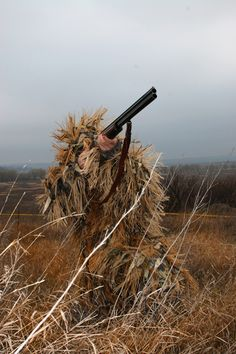 """Camoflauge """"Leshii"""" suit for hunting."""