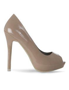 Producto: Zapato Peep Toe Charol - StyleSays