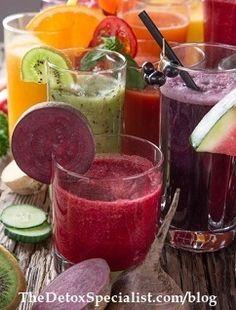 Week 2 of Dr Dr Sohère's Body #Cleanse includes a juice #detox.