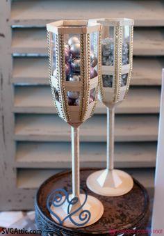 JGW Wedding Wishes~ Champagne glasses #svgattic