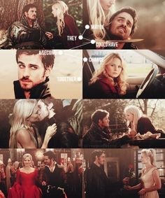 Once Upon a Time - Captain Swan <3