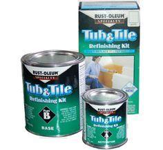 Home-Dzine - Restore or paint cast iron, ceramic or porcelain bathtub or sink