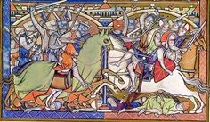 The Morgan Bible (The Pierpont Morgan Library, New York, Ms M. 638), also called the Crusader Bible or Maciejowski Bible, is a medieval picture Bible of 46 folios. This book has long been thought to have been created under the direction of Louis IX of France in the mid-1240s, but Allison Stones, after indications of others such as François Avril, has argued that it was most likely illuminated in the northern counties of France, ca. 1250.
