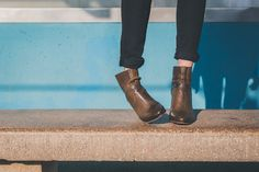 As botas de cano curto são uns charmes, principalmente as botas marrons, pois são bem básicas.