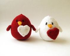 Valentine  Couple Love Birds setof 2 gemini wedding by sabahnur, $44.00