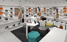 SHOES.RU concept store by A+D design, Vladimir   Russia