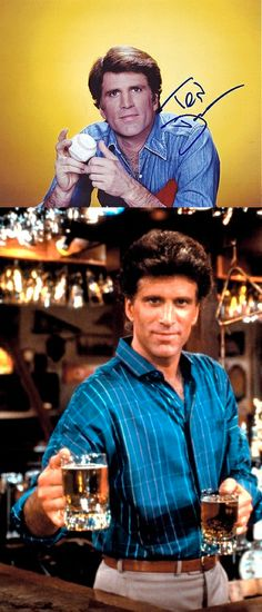 Ted Danson as 'Sam Malone' in Cheers (1982-93, NBC)