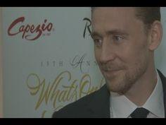 Tom Hiddleston. #WOSAwards #PressAssociation Via Torrilla.tumblr.com