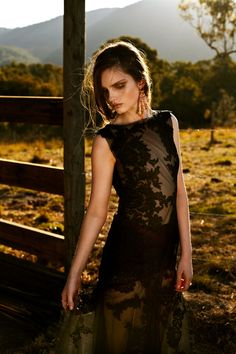 "Zoe Penman by Andrea Jankovic in ""Bewitching Beauty"" for Fashion Gone Rogue"