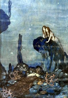 Art by Edmund Dulac.