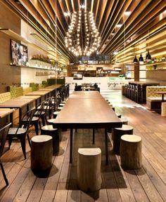 Magical Light, Cozy and Romantic Cafe fresh innovative design cafe2