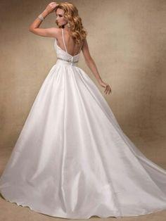 Maggie Sottero Wedding Dresses - Style Stephanie 24933...back of dress