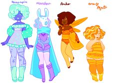 Gemsona Adopts [Buy Here! Steven Universe Fusion, Steven Universe Characters, Character Drawing, Character Concept, Character Personality, Character Ideas, Design Reference, Drawing Reference, Art Folder