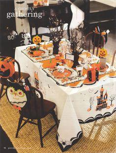 PBK Halloween Kids  Carolina Large Kids Table