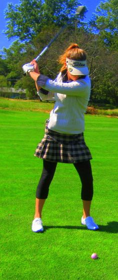 One of my cute golf outfits.