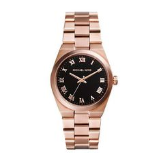 Ladies' Michael Kors Channing Rose Golden Three-Hand Watch - on #sale 30% off @ #Reeds