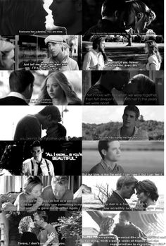 Nicholas Sparks quotes... okay.. where has this been my entire life?