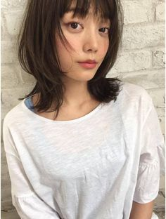 Japanese Haircut, Dream Hair, Hare, Hair Cuts, Make Up, Lipstick, Hair Styles, Up Dos, Outfit