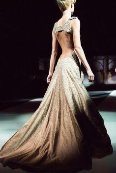 Beaded ballgown