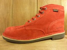 Kickers Schuhe Boots Kick Jeansboots rot Boots Herren oder Damen mit Kautschuksohle Echte Klassiker gesehen bei www.shoes4us.de