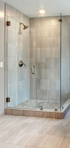 Showers : Corner Walk In Shower Ideas For Simple Small Bathroom With Natural Stone Shower Pans Decor Shower Stalls For Small Bathrooms Ideas...