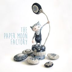 Paper mache sculpture made by Marion Westerman, The Paper Moon Factory 2015