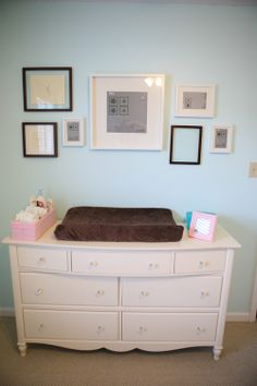I really like the idea of skipping the changing table all together and just using the dresser