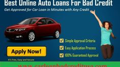 Best Car Loans for Bad Credit: Best Auto Loans for Bad Credit with Guaranteed Approval