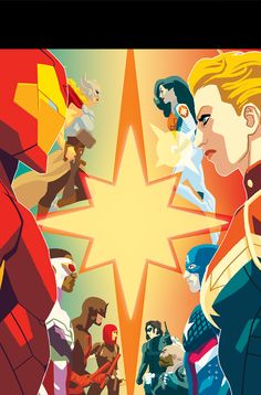 My cover for Captain Marvel 8 Along with an interview with the new writers on the series